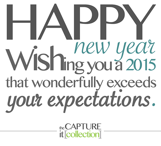 Happy New Years from The Capture It Collection, a family and sport inspired portrait photography business.